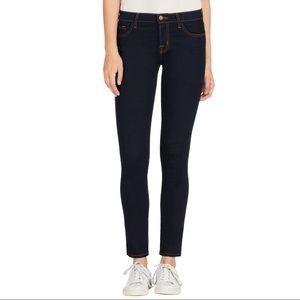 J Brand 811 Mid-Rise Skinny Leg Jeans Ink [25]